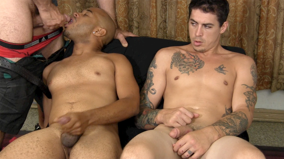 Straight-Fraternity-Franco-Lance-and-Tommy-Interracial-Straight-Cock-Sucking-Amateur-Gay-Porn-24 Two Amateur Straight Fraternity Brothers Shooting Cum With A Gay Guy