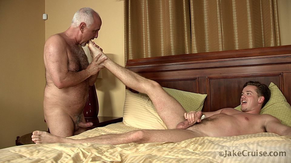 Jake Cruise Lucas Knight Hairy Daddy Sucks A Big Boy Cock Amateur Gay Porn 13 Jake Cruise: Daddy Sucks A Huge Younger Cock Until It Shoots