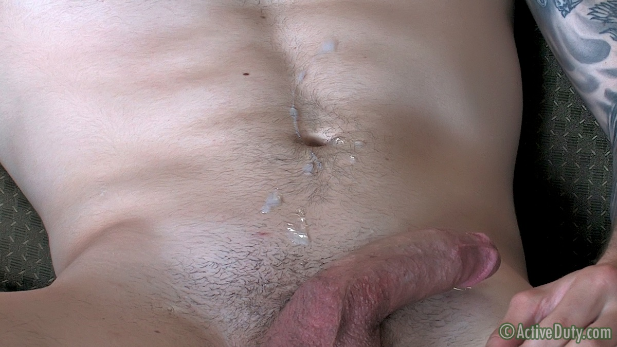 ActiveDuty-Vic-And-Wayne-Army-Buddies-Sucking-Cock-Amateur-Gay-Porn-19 Amateur Bi Army Guy Sucks His Straight Masculine Army Buddies Big Cock