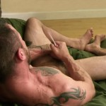 All American Heroes Sergeant Miles Army Guy Jerking Off Big Cock And Fingering Ass Amateur Gay Porn 12 150x150 Happy Veterans Day: Straight US Army Sergeant Jerks His Thick Cock