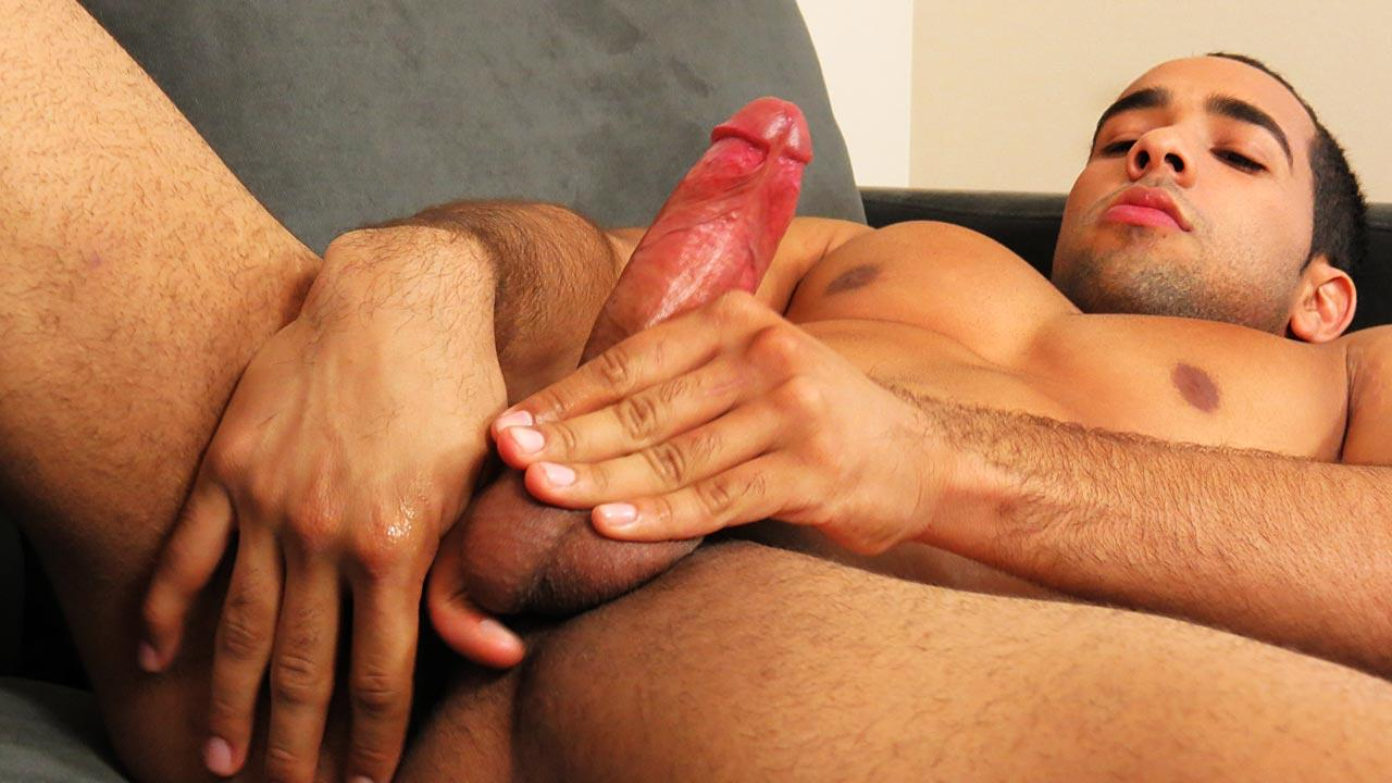 Straight-Rent-Boys-Brian-Chavez-Big-Uncut-Cock-Straight-Guy-Jerking-Off-Amateur-Gay-Porn-07 Straight Muscle Rent Boy Brian Jerks His Thick Uncut Cock For Cash