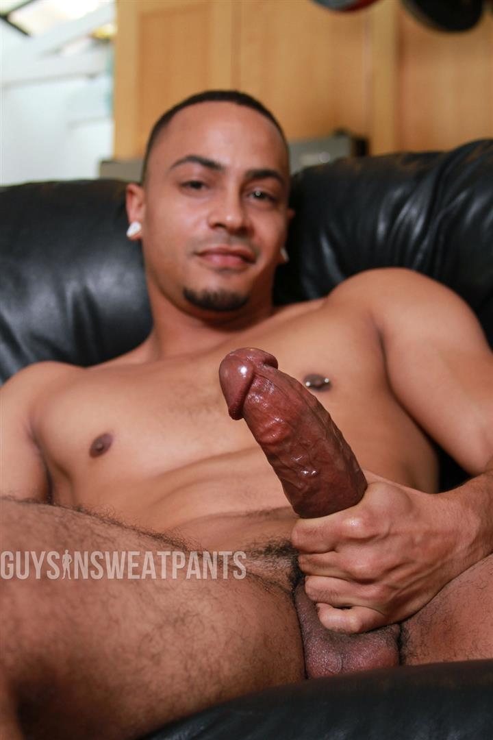 Guys-In-Sweatpants-Ezekiel-Stone-and-Dillon-Hays-Interracial-bareback-fucking-Amateur-Gay-Porn-11 Hot Black Guy Gets Barebacked By A Sexy White Stud With A Big Uncut Cock