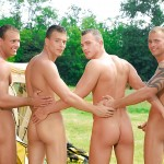 Visconti-Triplets-Jason-Visconti-Jimmy-Visconti-Joey-Visconti-Giuseppe-Pardi-Fucking-During-A-Camping-Trip-Amateur-Gay-Porn-06-150x150 Visconti Triplets Tag Team Some Muscle Ass While Camping