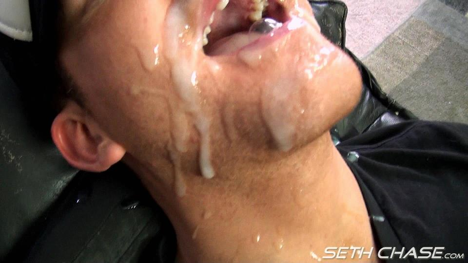 Seth Chase Addison Cooper Massive Load of Cum In the Mouth And Face Amateur Gay Porn 20 Cocksucker Eating A Massive Load of Hot Thick Cum