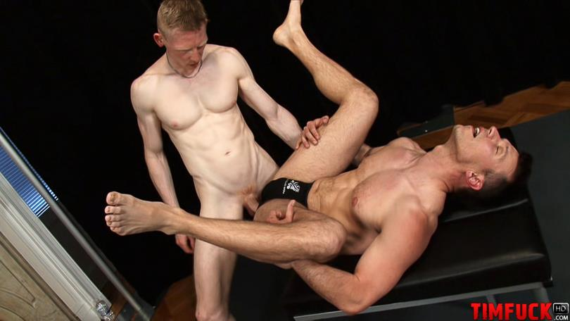 Treasure Island Media TimFuck ALEX KAINE and ROB YAEGER Bareback Fucking Amateur Gay Porn 9 Rob Yaeger Shoves His Big Ginger Cock Up An Amateur Ass Bareback