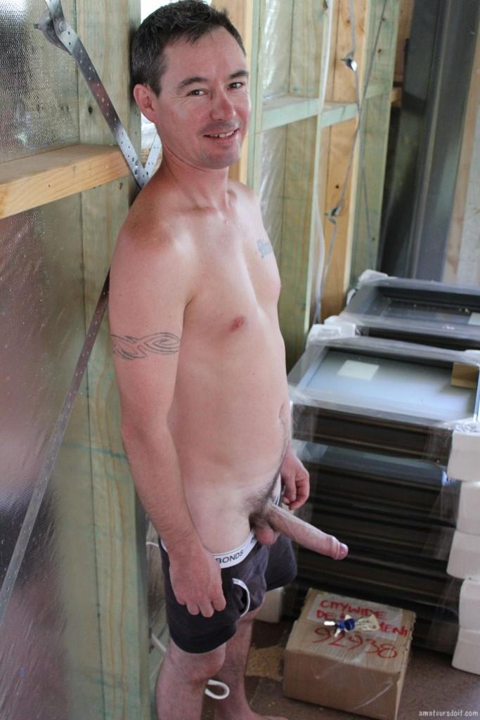 Amateurs Do It Noah Construction Worker Jerking His Big Uncut Cock Amateur Gay Porn 13 Construction Worker Jerking His Big Uncut Cock At the Job Site