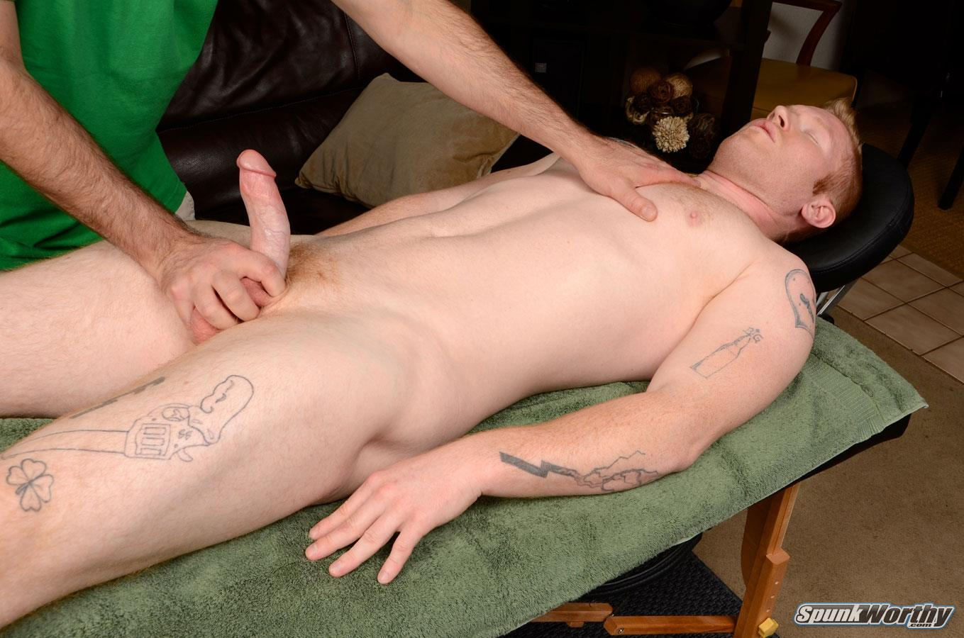 Spunkworthy-Perry-Straight-Redhead-Gets-Massage-With-Happy-Ending-Amateur-Gay-Porn-15 Amateur Straight Redhead Gets A Massage With A Happy Ending