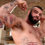 Butch Dixon Alex Marte and Antonio Garcia Beefy Hunks With Big Uncut Cocks Fucking Amateur Gay Porn 17 150x150 Beefy Burly Muscle Guys With Thick Uncut Cocks Fucking Hard