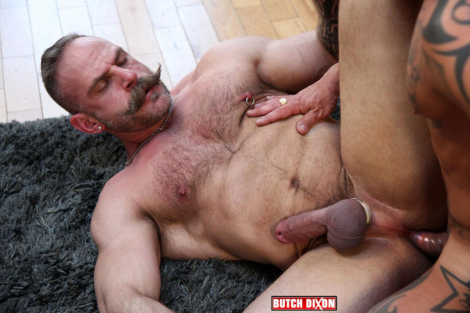 Butch Dixon Samuel Colt and Frank Valencia Hairy Muscle Daddy Getting Fucked By Latino Cock Amateur Gay Porn 13 Happy Fathers Day: Hairy Muscle Daddy Samuel Colt Taking A Big Cock Up The Ass
