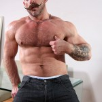 Butch Dixon Samuel Colt and Frank Valencia Hairy Muscle Daddy Getting Fucked By Latino Cock Amateur Gay Porn 18 150x150 Happy Fathers Day: Hairy Muscle Daddy Samuel Colt Taking A Big Cock Up The Ass