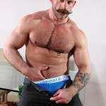 Butch Dixon Samuel Colt and Frank Valencia Hairy Muscle Daddy Getting Fucked By Latino Cock Amateur Gay Porn 19 150x150 Happy Fathers Day: Hairy Muscle Daddy Samuel Colt Taking A Big Cock Up The Ass