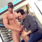 Maskurbate Pascal and Brad Straight Muscle Hunk With A Big Uncut Cock Jerking His Cock Amateur Gay Porn 07 150x150 Worshipping A Straight Muscle Hunk With A Big Uncut Cock