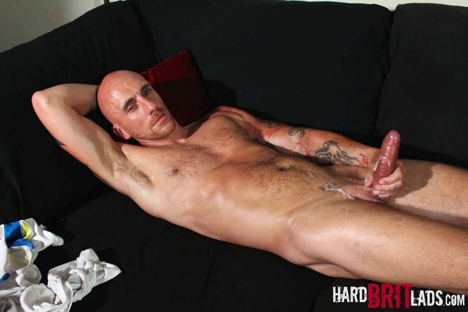 Hard Brit Lads Sam Porter British Muscle Hunk With A big Uncut cock Amateur Gay Porn 26 Tatted Muscle British Hunk Sam Porter Jerking His Big Uncut Cock