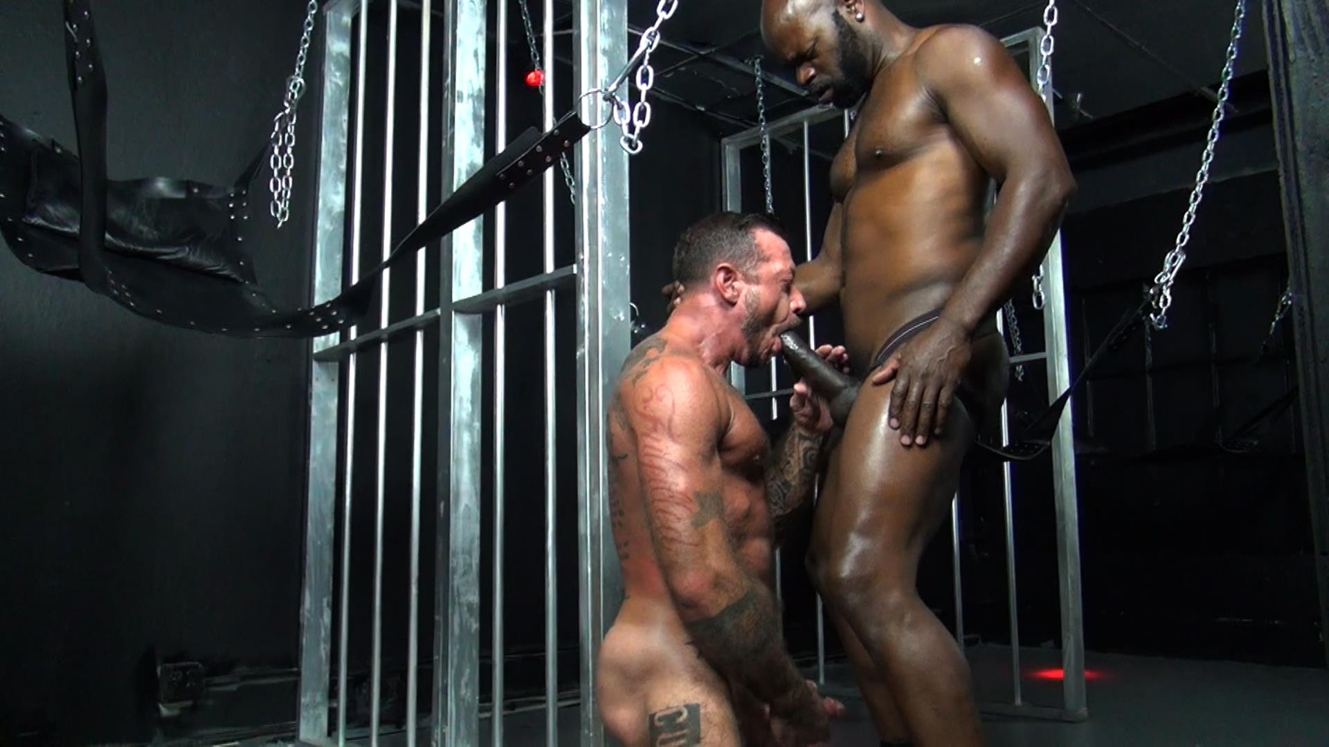 Raw Fuck Club Cutler X and Ray Dalton Interracial Bareback Sex Amateur Gay Porn 4 Cutler X Barebacking Hairy Muscle Daddy Ray Dalton With His Big Black Cock