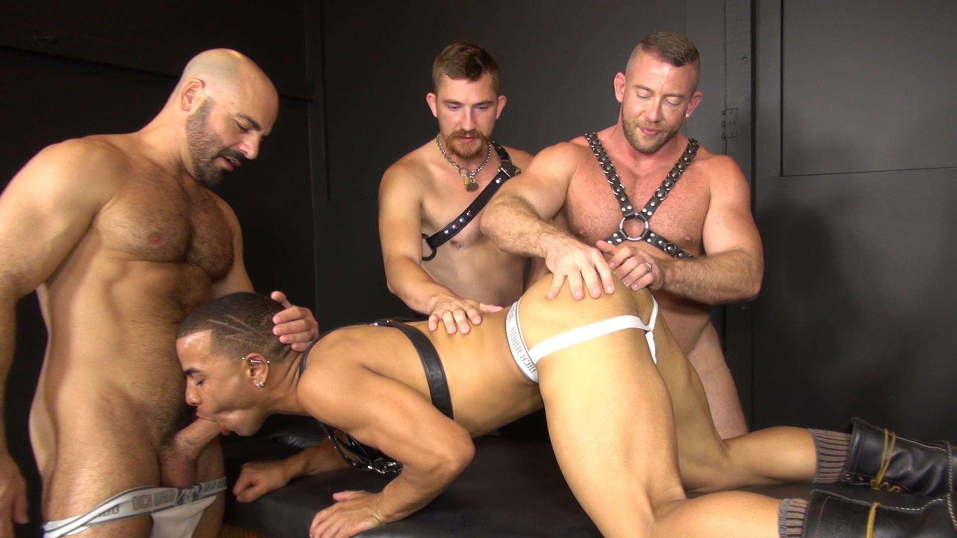 Raw-and-Rough-Ken-Byker-Dayton-OConnor-Trelino-Shay-Michaels-Adam-Russo-Cutler-X-Interracial-Bareback-Orgy-Amateur-Gay-Porn-01 Interracial Bareback Orgy With Adam Russo & Cutler X