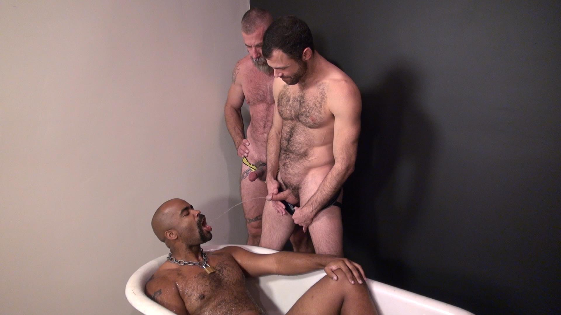 Raw-and-Rough-Jake-Wetmore-and-Dusty-Williams-and-Kid-Satyr-Bareback-Taking-Raw-Daddy-Loads-Cum-Amateur-Gay-Porn-01 Hairy Pup Taking Raw Interracial Daddy Loads Bareback