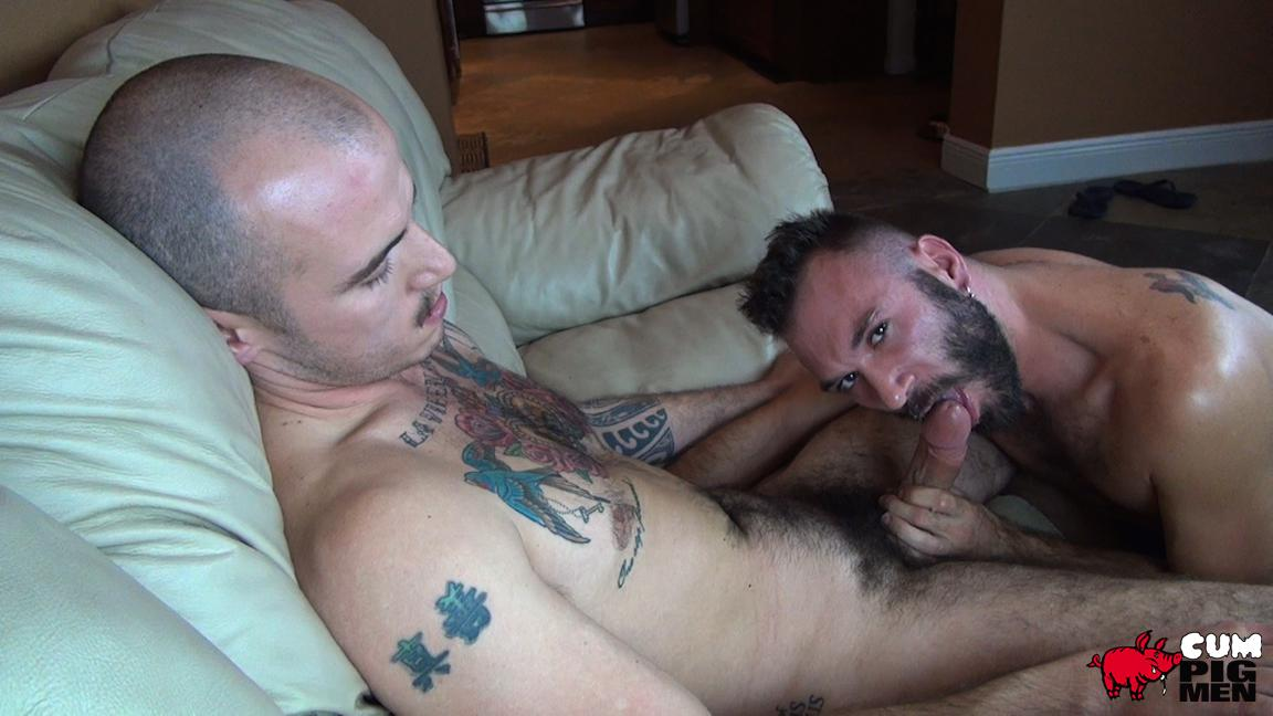 Cum-Pig-Men-Ethan-Palmer-and-Cam-Christou-Sucking-Cock-and-Eating-Cum-Amateur-Gay-Porn-34 Sucking A Load Of Cum Out Of Cam Christou