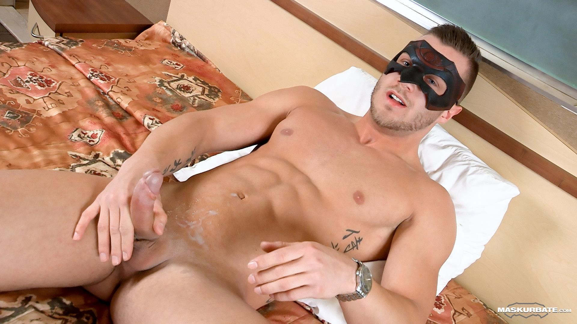 Bisexual Pornstar Hunk Jerks Himself Off