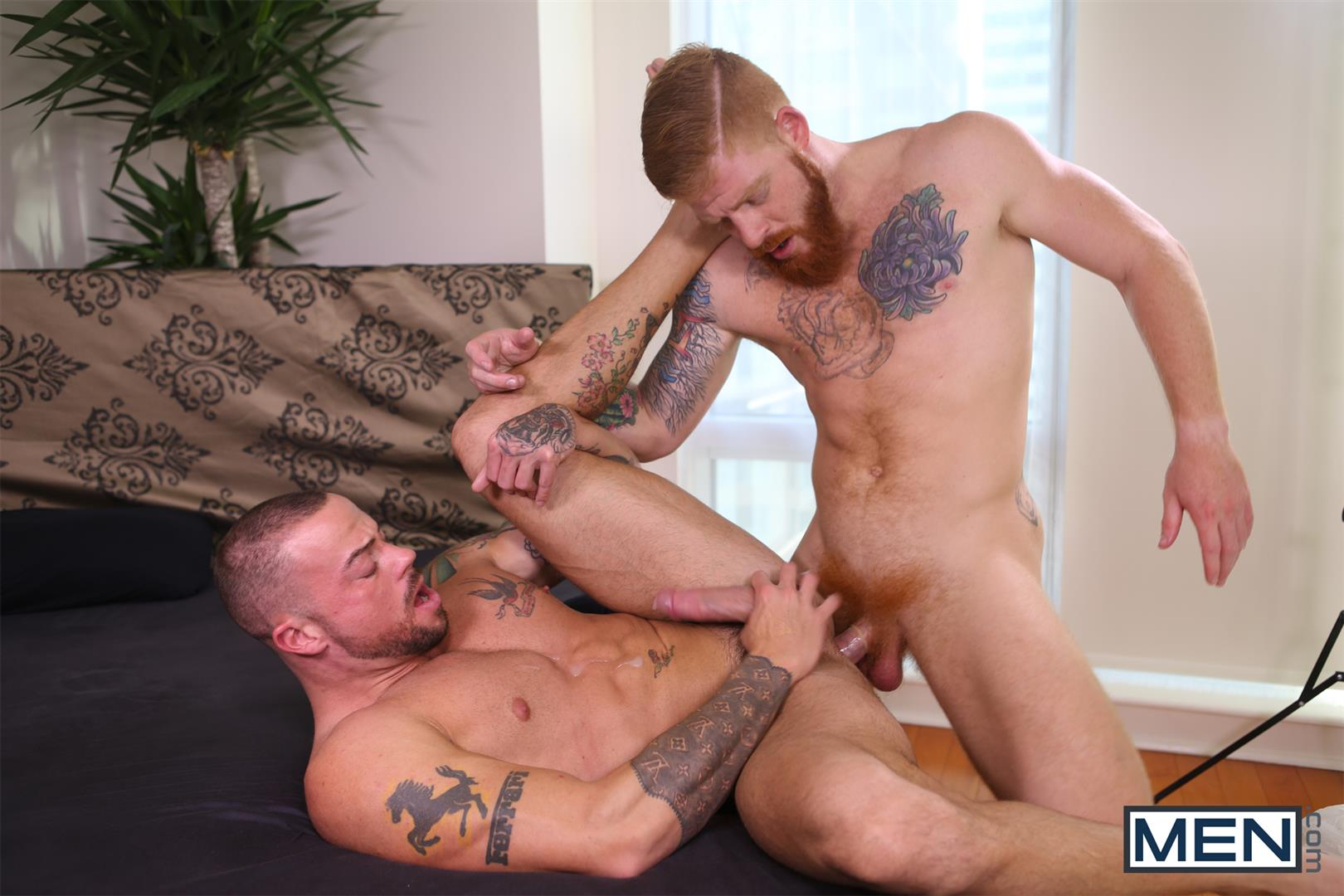 Men-Bennett-Anthony-and-Sean-Duran-Naked-Redhead-Muscle-Guys-Fucking-Amateur-Gay-Porn-15 Bennett Anthony Fucking A Muscle Hunk With His Big Ginger Cock