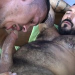 Cum Pig Men Jimmie Slater and Alessio Romero Hairy Muscle Daddy Getting Blow Job Amateur Gay Porn 15 150x150 Jimmie Slater Sucks A Load Of Cum Out Of Hairy Muscle Daddy Alessio Romero
