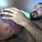 Cum Pig Men Jimmie Slater and Alessio Romero Hairy Muscle Daddy Getting Blow Job Amateur Gay Porn 27 150x150 Jimmie Slater Sucks A Load Of Cum Out Of Hairy Muscle Daddy Alessio Romero