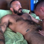 Cum Pig Men Jimmie Slater and Alessio Romero Hairy Muscle Daddy Getting Blow Job Amateur Gay Porn 33 150x150 Jimmie Slater Sucks A Load Of Cum Out Of Hairy Muscle Daddy Alessio Romero