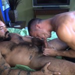 Cum Pig Men Jimmie Slater and Alessio Romero Hairy Muscle Daddy Getting Blow Job Amateur Gay Porn 44 150x150 Jimmie Slater Sucks A Load Of Cum Out Of Hairy Muscle Daddy Alessio Romero