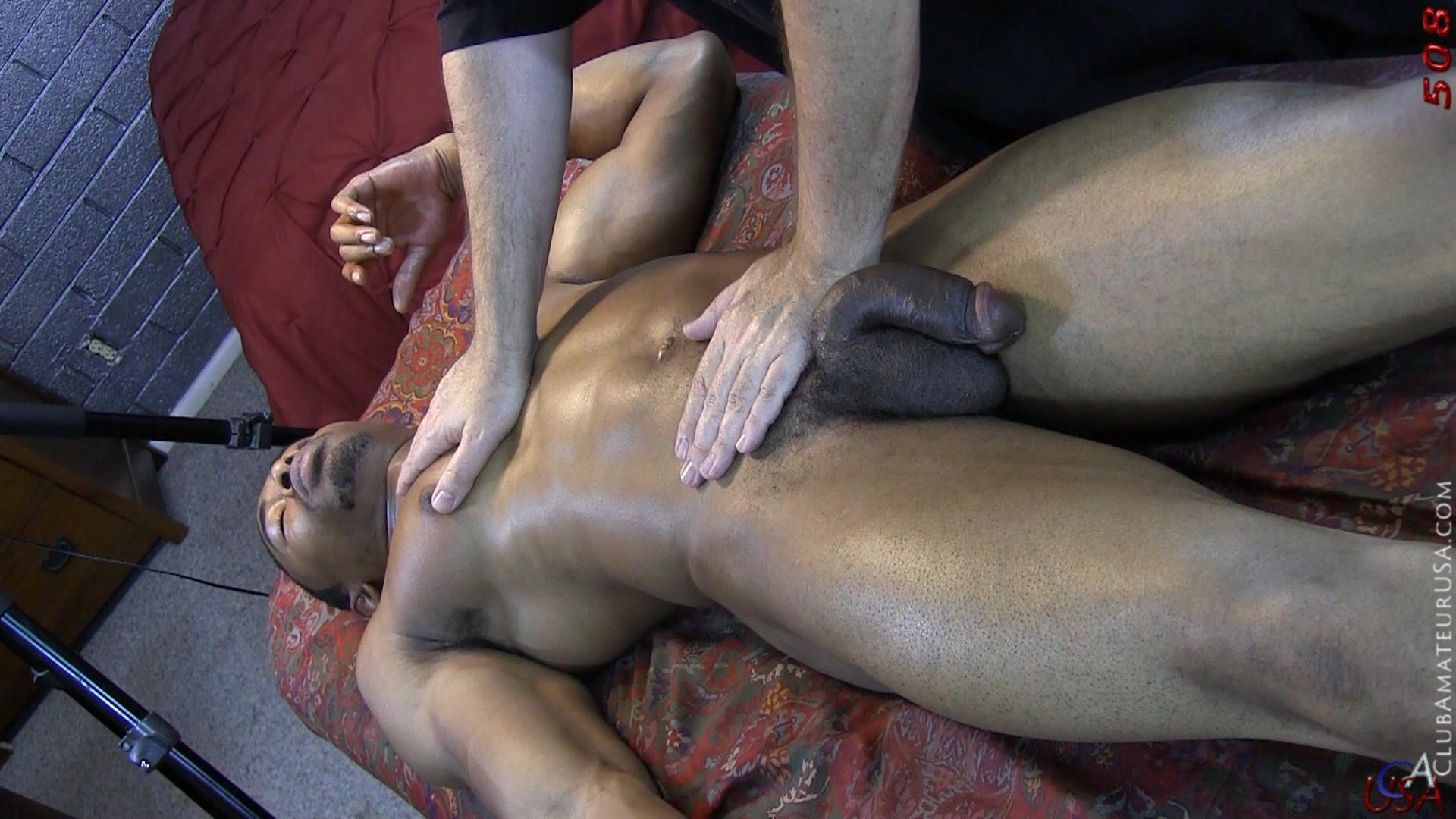 Club-Amateur-USA-Gracen-Straight-Big-Black-Cock-Getting-Sucked-With-Cum-Amateur-Gay-Porn-39 Straight Ghetto Thug Gets A Massage With A Happy Ending From A Guy