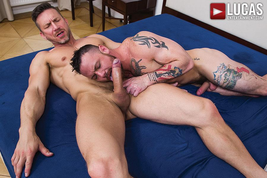 Lucas Entertainment Sergeant Miles and Tomas Brand Military Guy Gets Big Uncut Cock Bareback Amateur Gay Porn 11 Army Sergeant Miles Takes A Huge Uncut Bareback Cock Up His Tight Ass