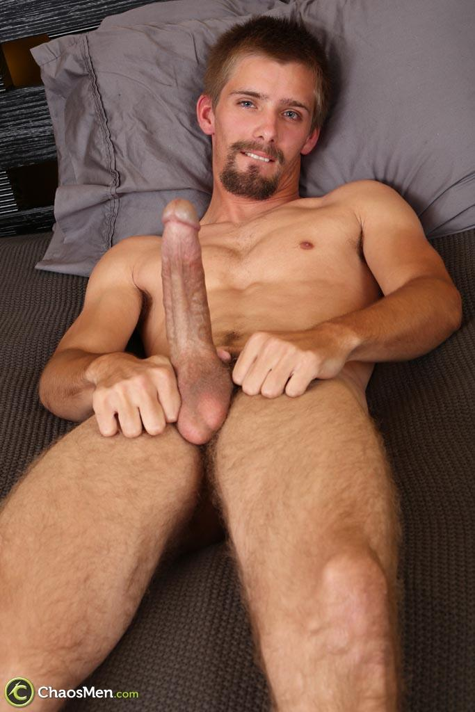Chaosmen-Augustine-Straight-Guy-With-A-Big-Horse-Cock-Amateur-Gay-Porn-23 Skinny Redneck With A Hairy Ass Stroking His 10