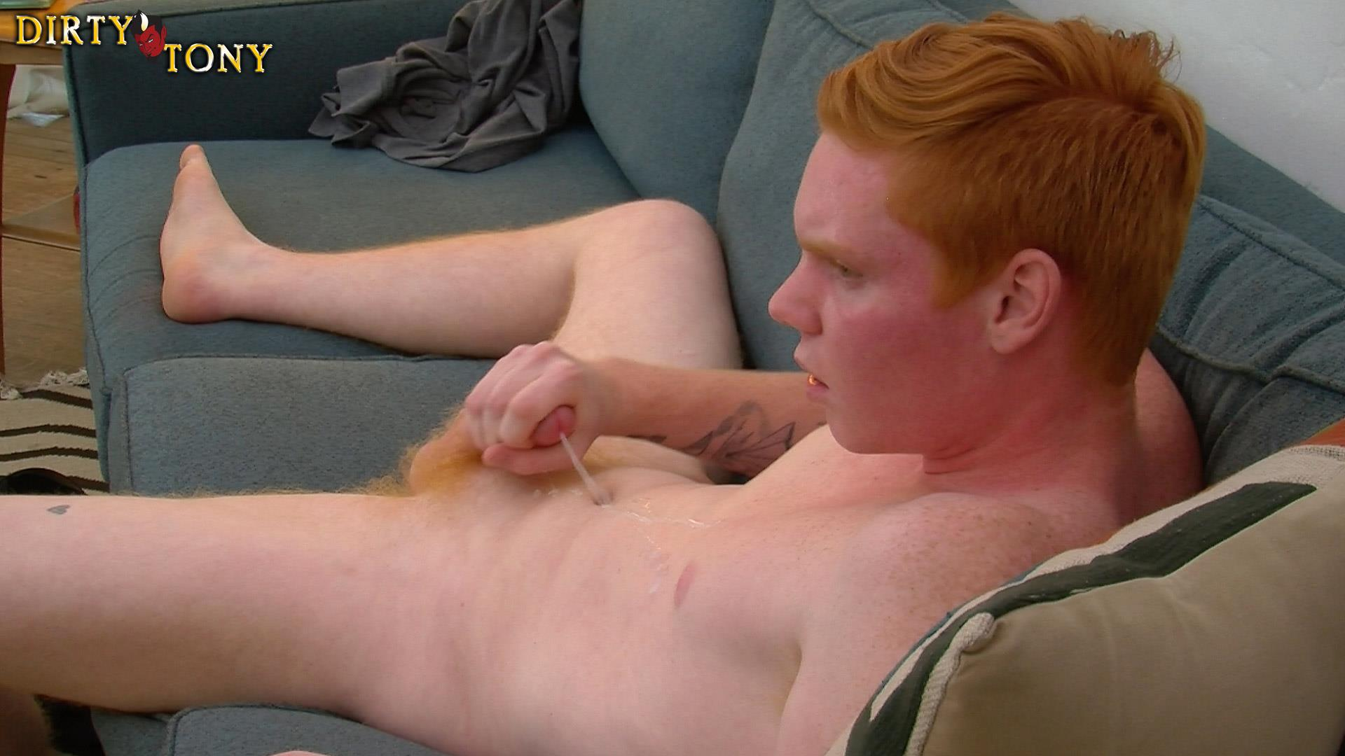 Dirty-Tony-Max-Breeker-Redheaded-Twink-Masturbation-Amateur-Gay-Porn-14 Bisexual 19 Year Old Redheaded Twink Auditions For Gay Porn