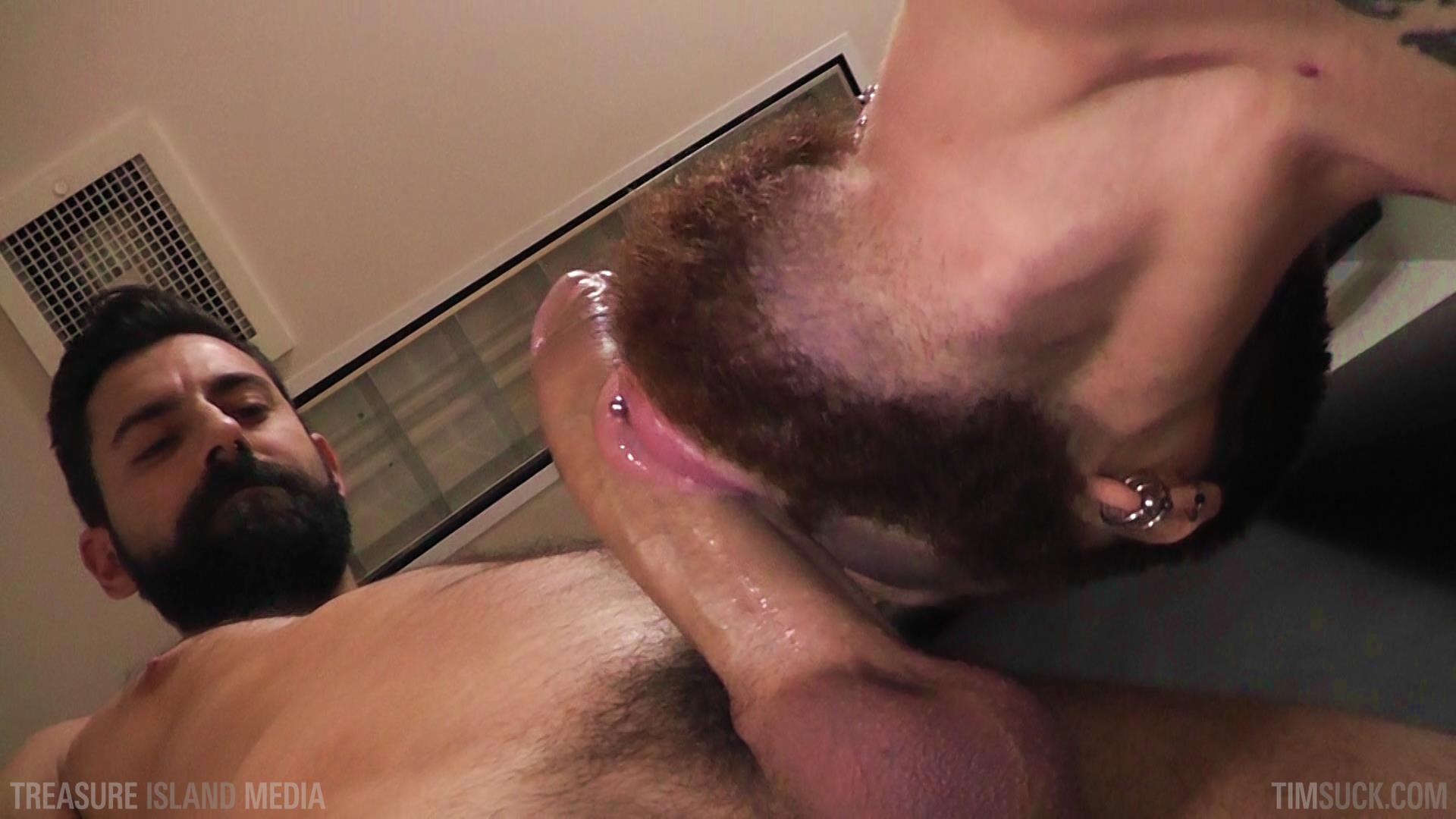 Treasure-Island-Media-TimSuck-Pete-Summers-and-Dean-Brody-Sucking-A-Big-Uncut-Cock-Amateur-Gay-Porn-20 Bearded Ginger Services A Big Uncut Cock And Eats The Cum