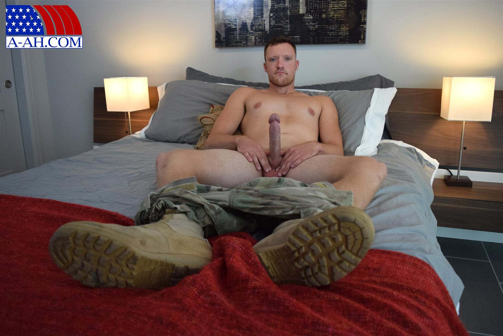All-American-Heroes-Randy-Army-Sergeant-Naked-With-A-Big-Cock-Amateur-Gay-Porn-04 Army Sergeant Comes Out Of The Closet in Afghanistan
