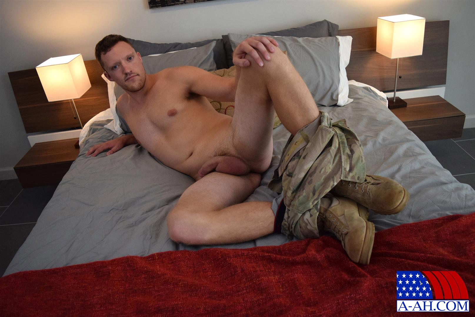 All-American-Heroes-Randy-Army-Sergeant-Naked-With-A-Big-Cock-Amateur-Gay-Porn-11 Army Sergeant Comes Out Of The Closet in Afghanistan