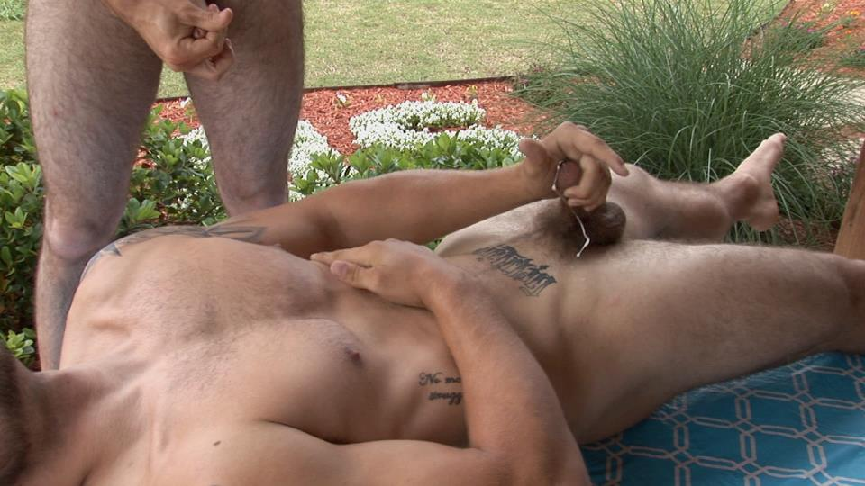 Southern-Strokes-Josh-and-Logan-Hairy-Texas-Twinks-Fucking-Outside-Amateur-Gay-Porn-16 Hairy Texas Twinks Share an Outdoor Fucking At The Ranch