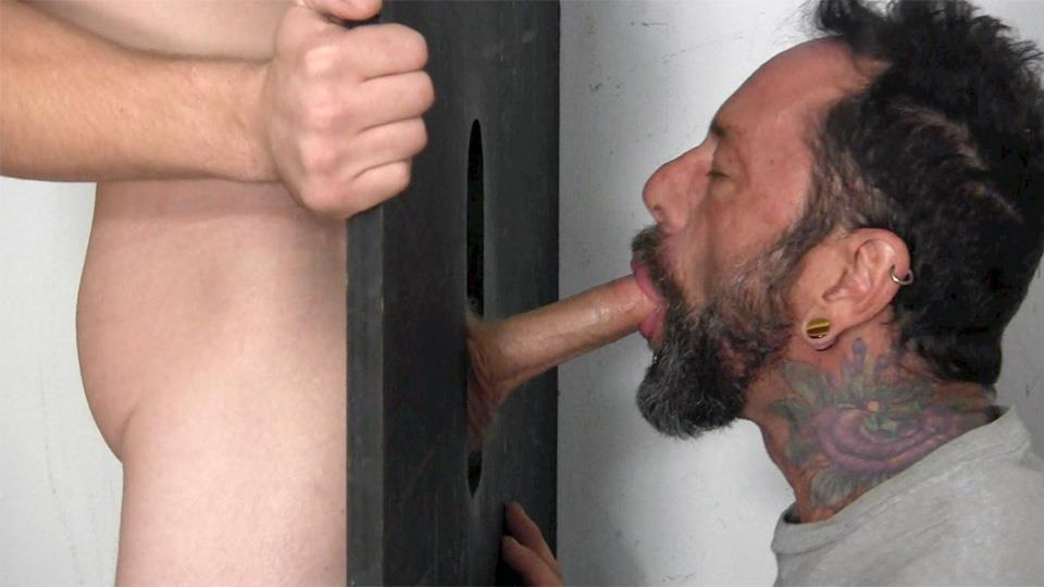 Straight Fraternity Donny Forza Straight Guy Getting Sucked Through Gloryhole Amateur Gay Porn 06 Donny Forza Gets His Big Dick Sucked Through A Gloryhole