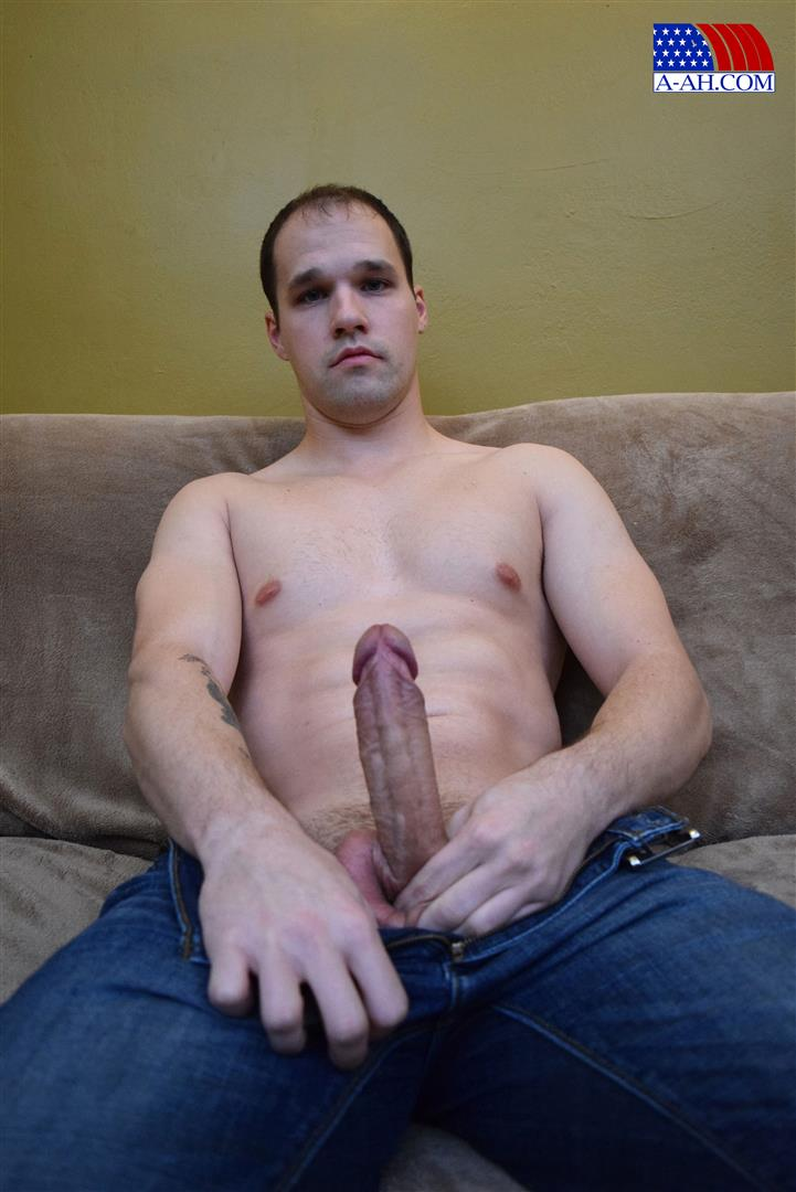 All-American-Heroes-Navy-Petty-Officer-Chris-Big-Uncut-Cock-Amateur-Gay-Porn-02 US Navy Petty Officer Stroking His Big Uncut Cock