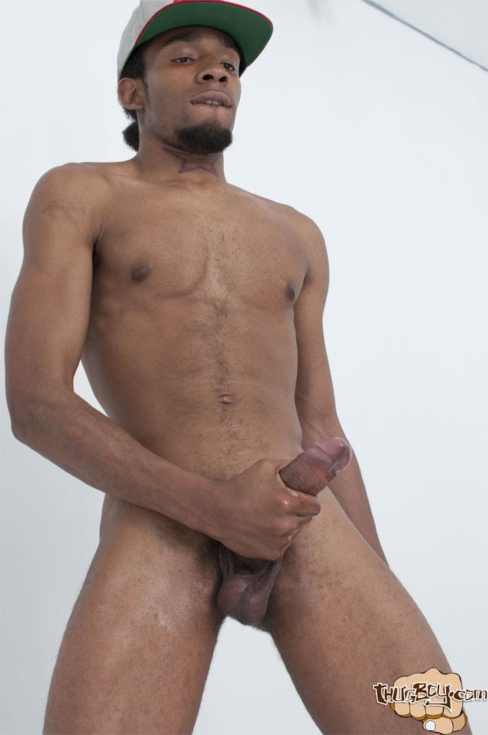 Thug-Boy-Frost-Big-Black-Thug-Cock-Jerking-Off-Amateur-Gay-Porn-40 Young Chicago Thug Boy Jerks His Big Black Cock