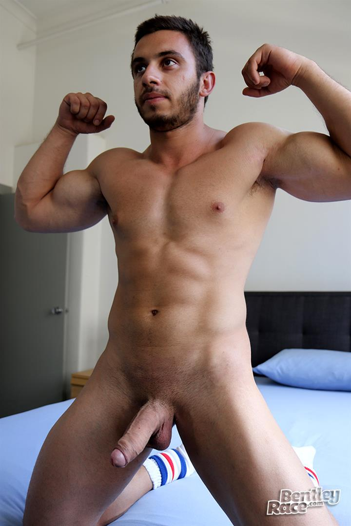 Bentley Race James Nowak Beefy Straight Muscle Hunk Jerks His Big Uncut Cock Amateur Gay Porn 17 Straight Australian Beefy Muscular Guy Strokes His Thick Uncut Cock
