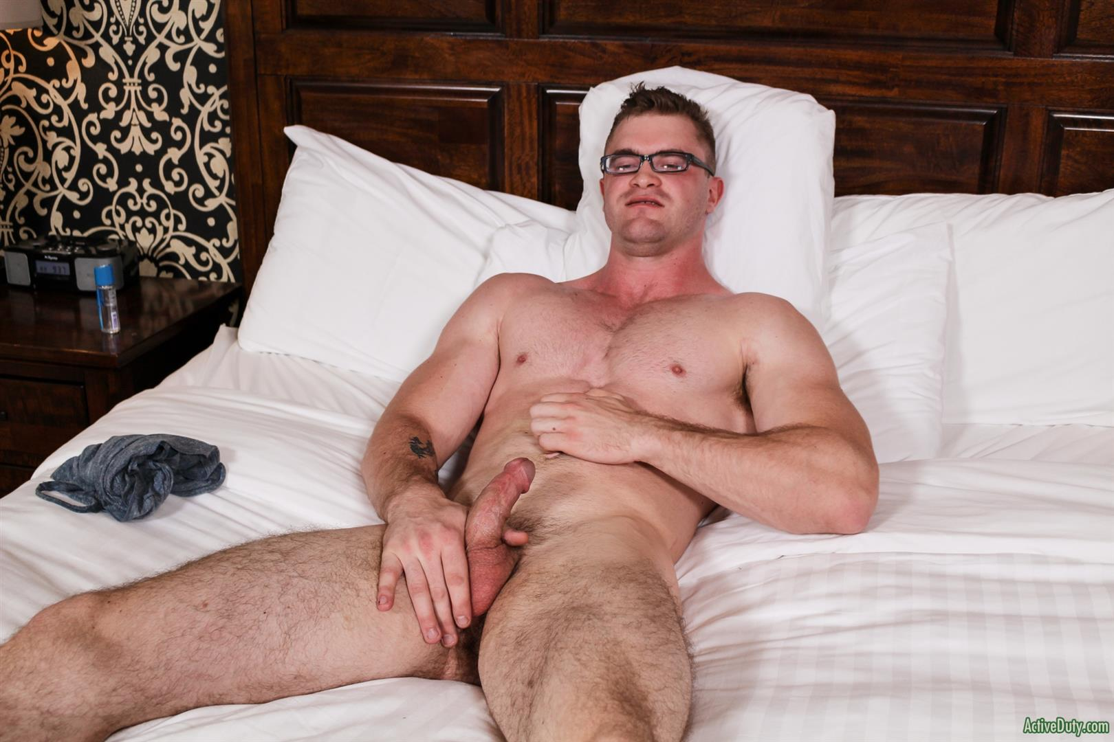 Active Duty Scott Ambrose Muscle Naked Marine Jerking Off Amateur Gay Porn 12 Hairy Muscular American Marine Jerks His Thick Cock