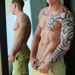 Straight Off Base Shane Naked Marine Jerk Off Amateur Gay Porn 04 150x150 Muscled Marine Corporal Jerks His Smooth Shaved Cock