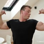 Jake Cruise Tommy Morava Muscle Hunk With Big Uncut Cock 02 150x150 European Muscle Hunk Strokes His Fat Uncut Cock
