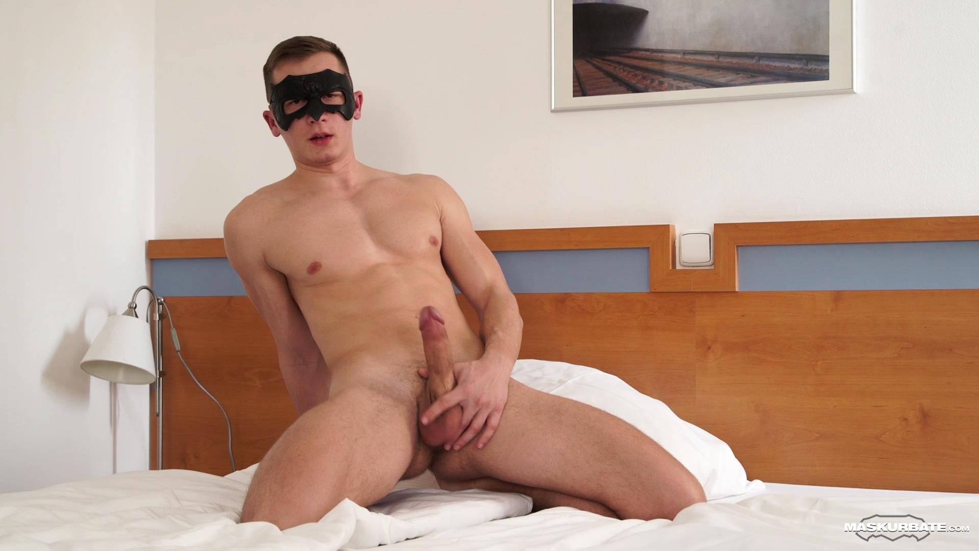 Maskurbate-Andy-Hotel-Bellman-Strokes-Big-Uncut-Cock-12 Paying The Hotel Bellman To Jerk His Big Uncut Cock In My Room