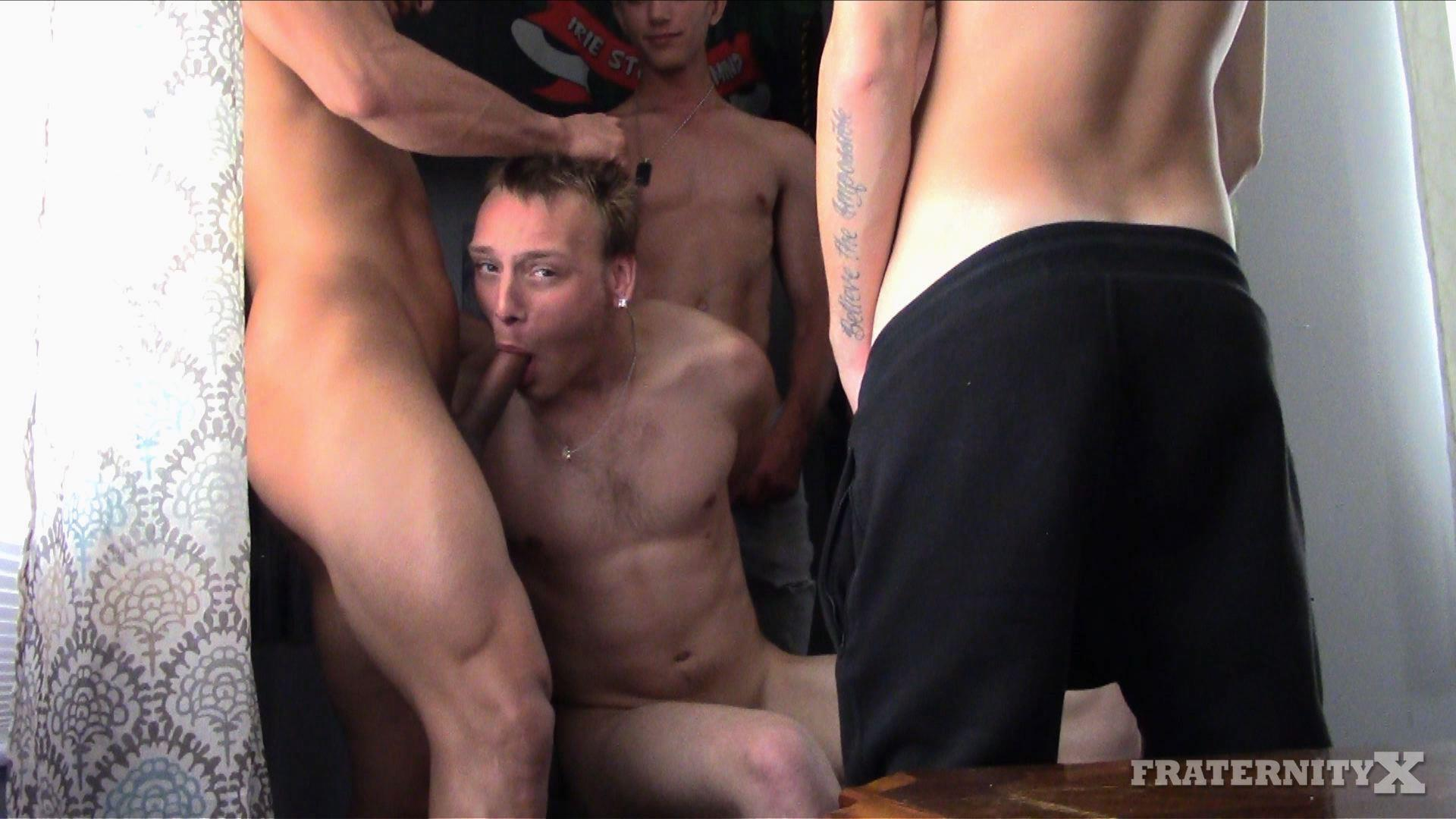Fraternity-X-Naked-Frat-Boys-Gay-Sex-Party-Video-10 Welcome Back To School!  Frat Boys Gang Bang A Raw Freshman Ass