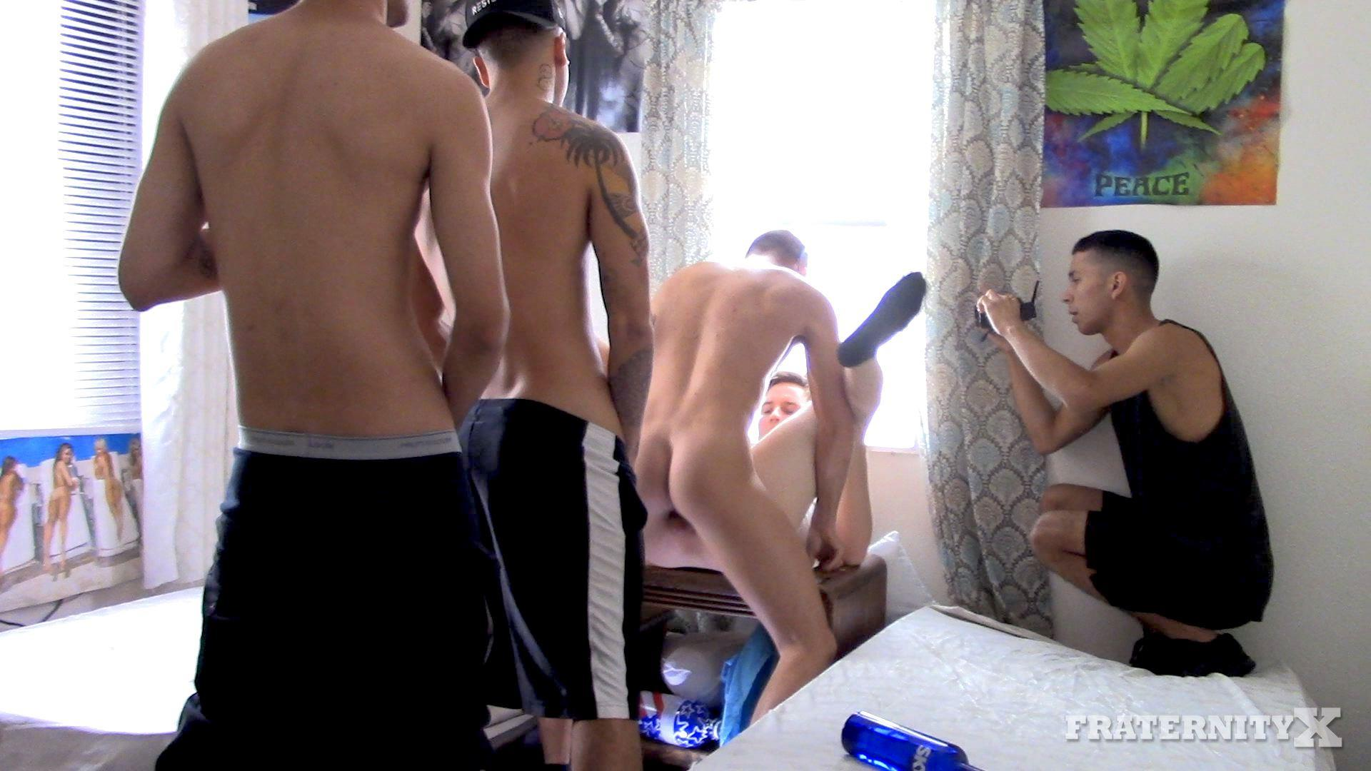 Fraternity-X-Naked-Frat-Guys-Gay-Bareback-Sex-Video-06 Drunk Naked Frat Boy Takes Five Raw Cocks Up The Ass