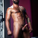 Raging-Stallion-Drake-Masters-and-James-Stevens-hairy-guys-cum-facial-03-150x150 Hairy Muscle Bear Drake Masters and Otter James Stevens Swap Cum Facials